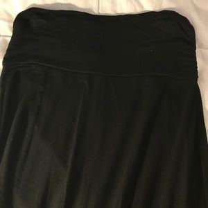 Bobeau Black Maxi Skirt
